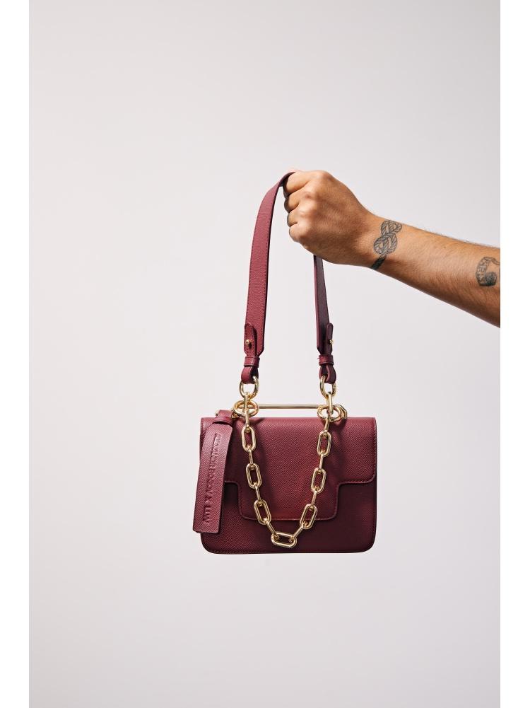 Lady bag бордовая