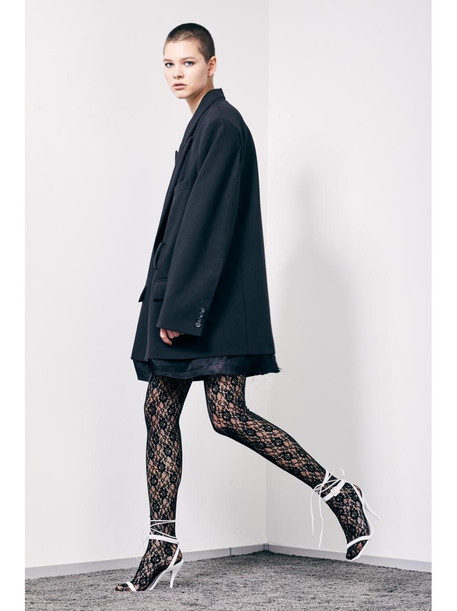 Жакет black super oversize
