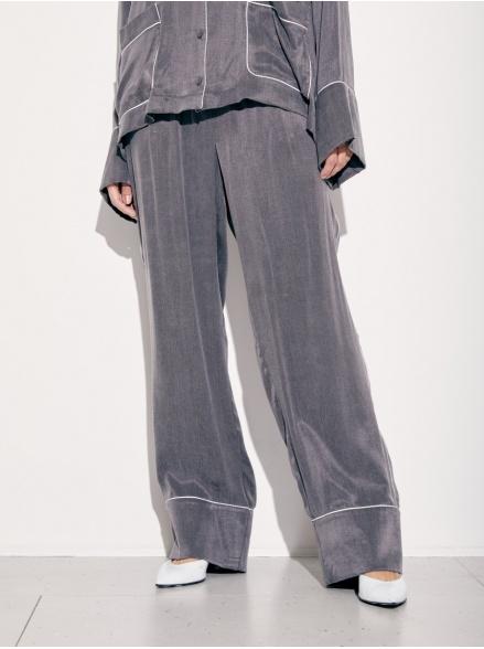 Брюки пижамные grey