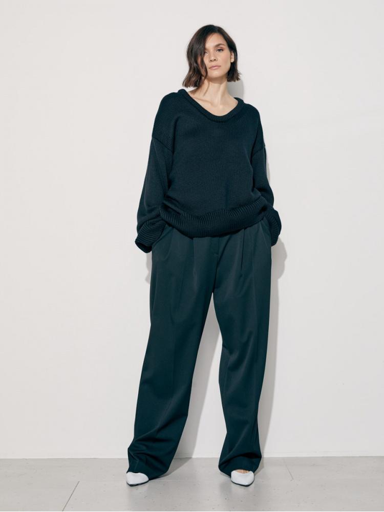Пуловер black