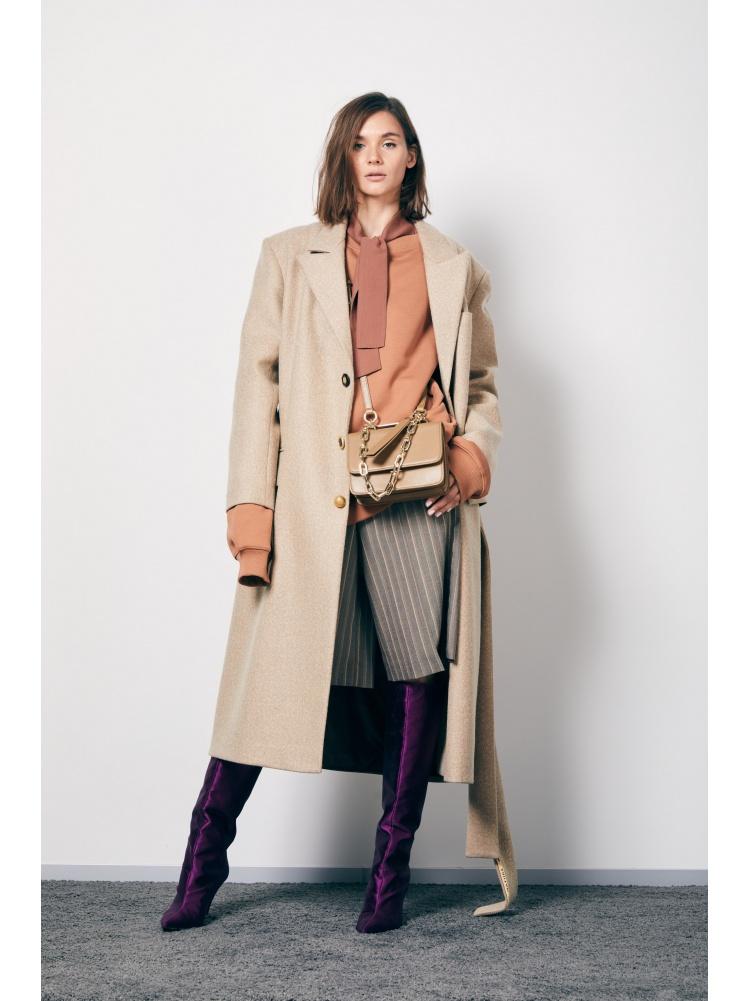 Пальто beige прямое