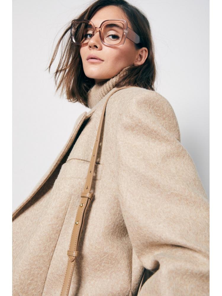 Пальто beige двубортное