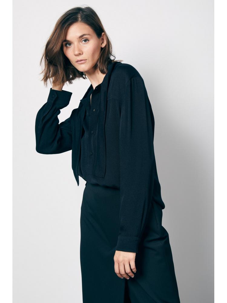Блуза black