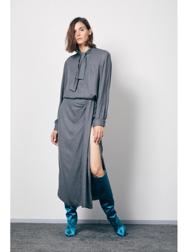 Блуза grey