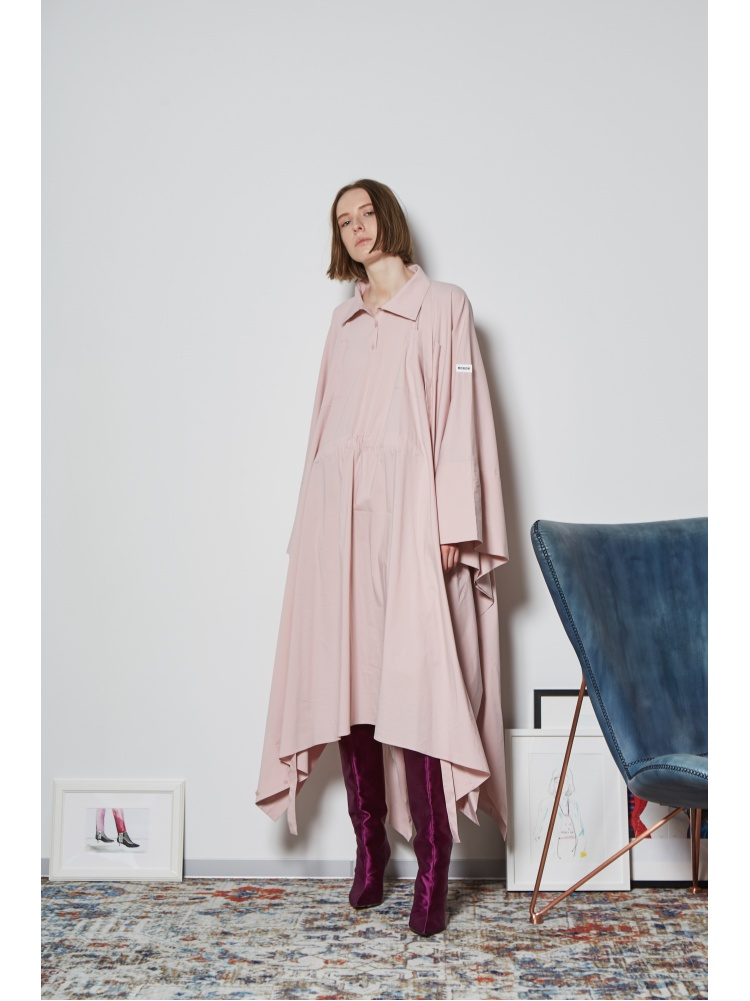Платье-пончо pink
