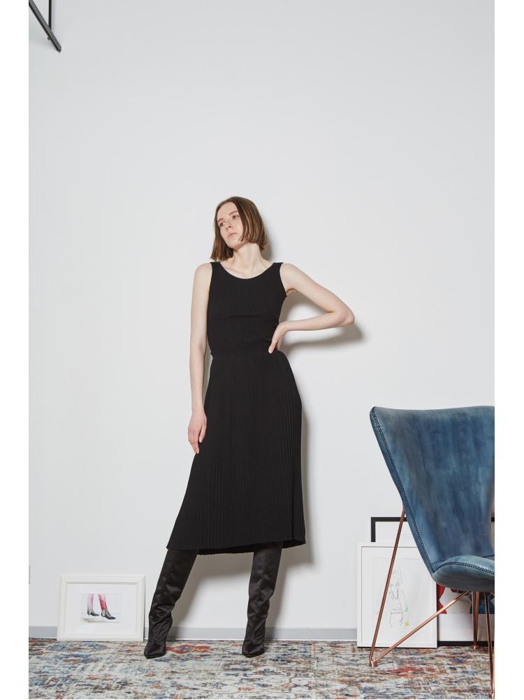 Юбка трикотажная black