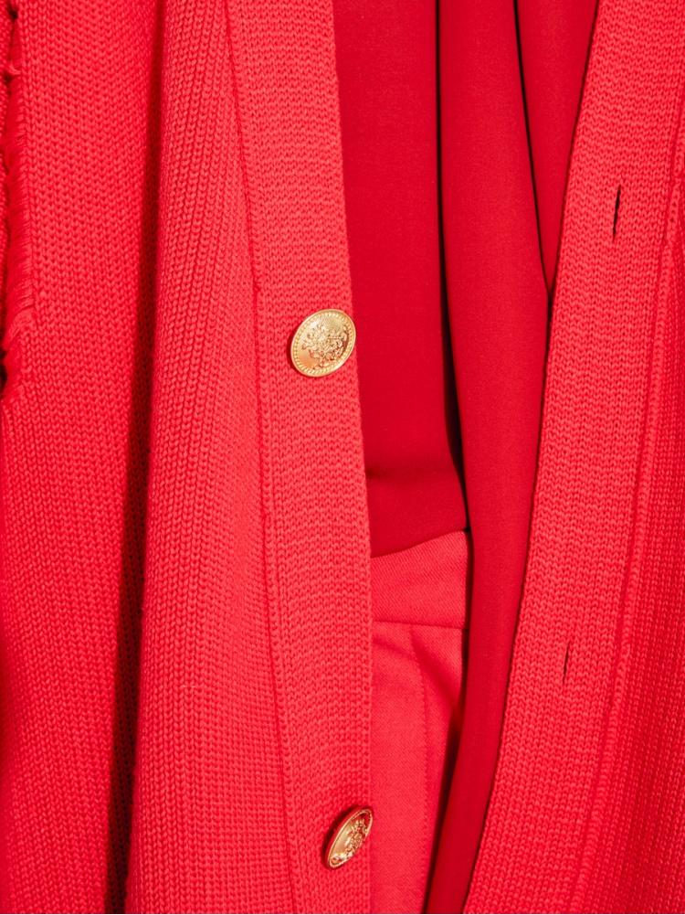 Кардиган red