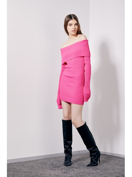 Мини-платье pink