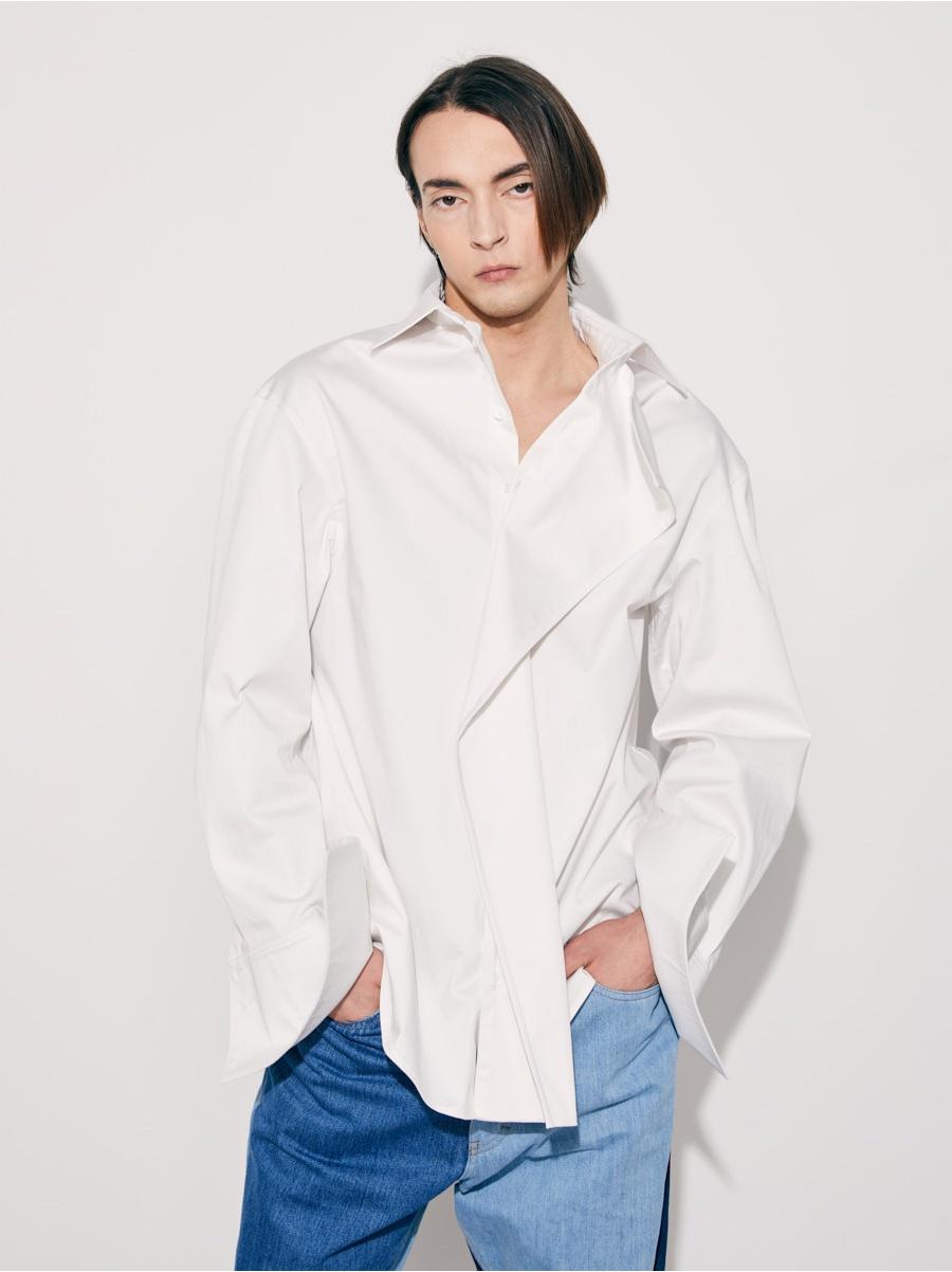 Рубашка white