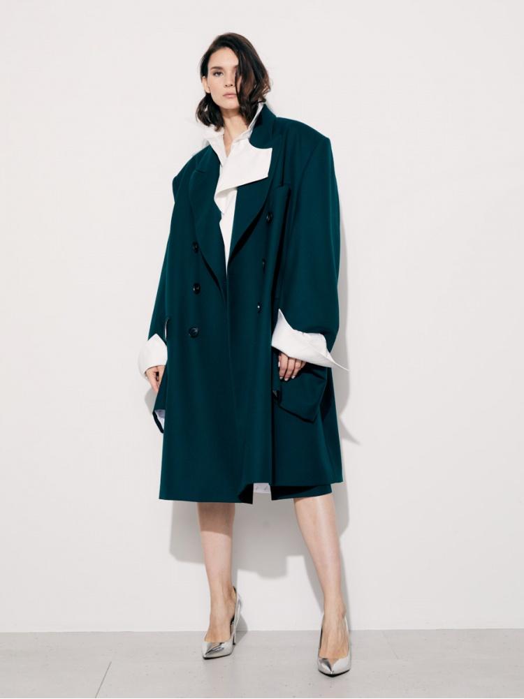 Пальто green