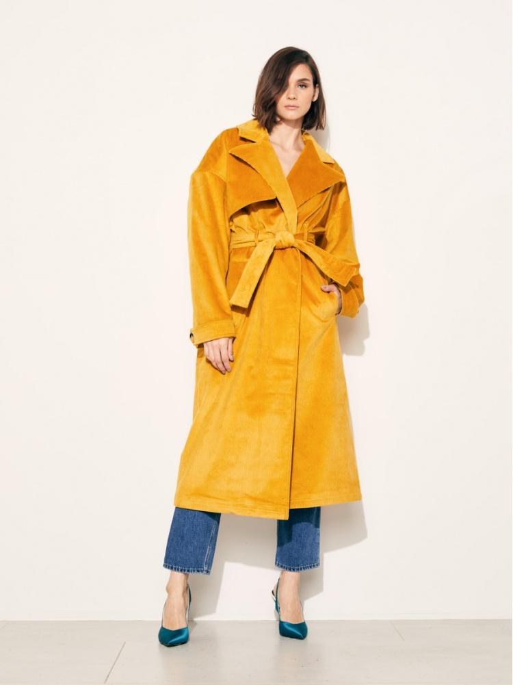 Тренч yellow