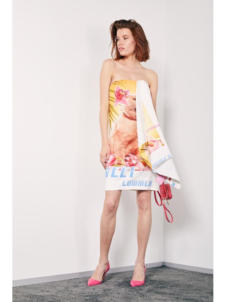 "Платье ""Sweet Summer"" postcard cat"