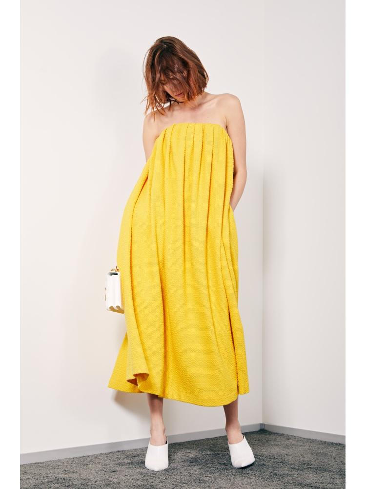 Платье yellow towel