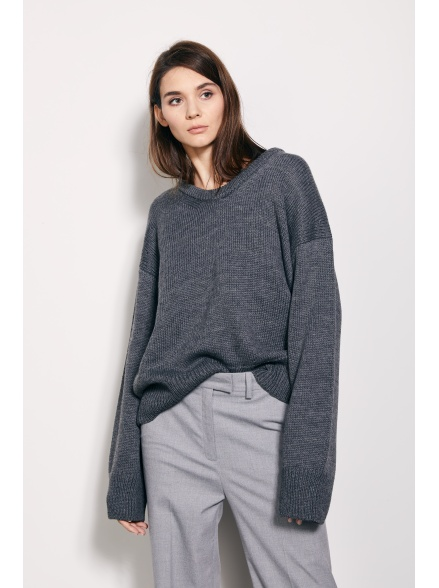 Пуловер grey