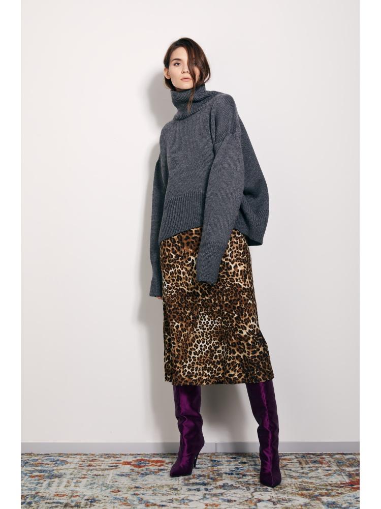 Юбка leopard