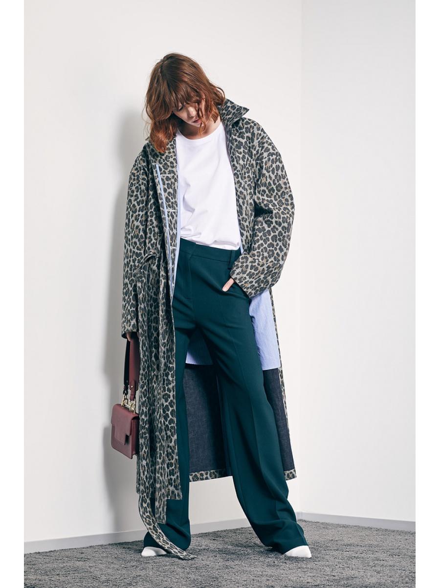 Пальто leopard