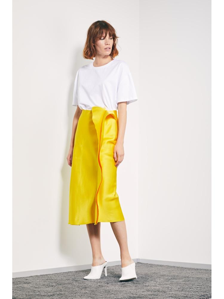 Юбка yellow
