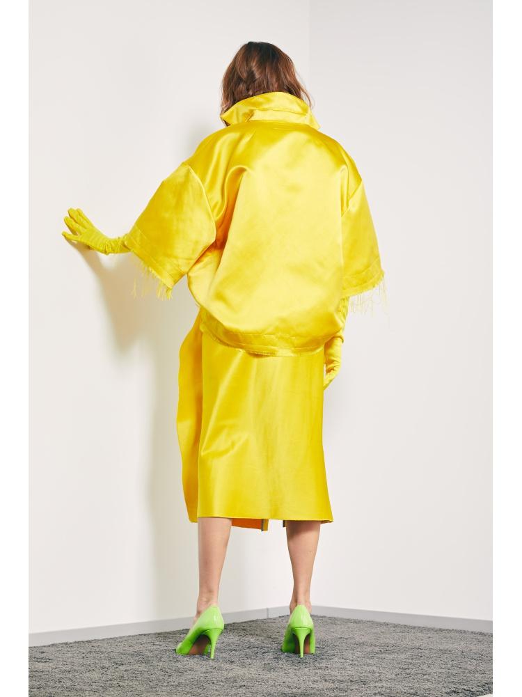 Блуза-поло yellow