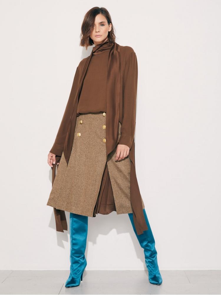 Блуза brown