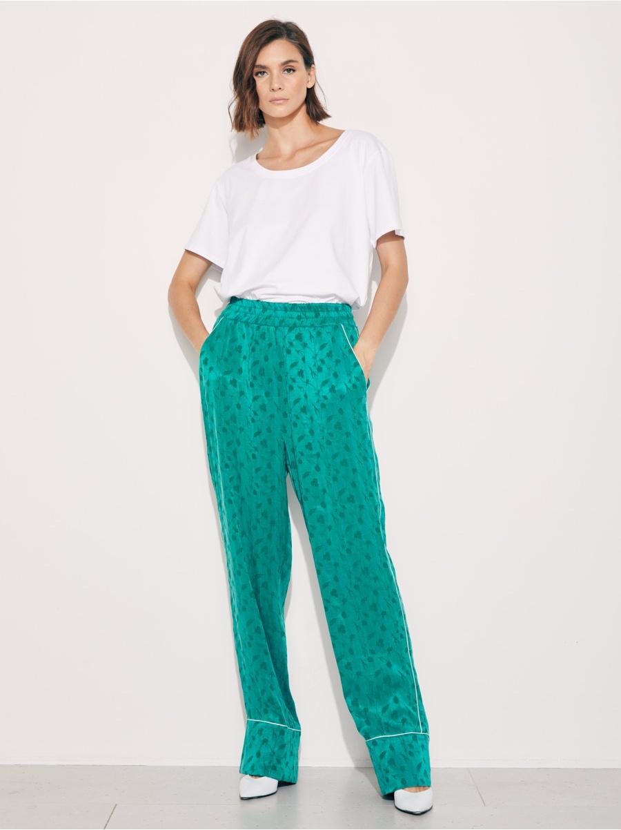 Брюки пижамные green