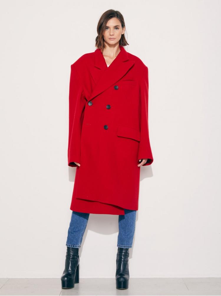 Пальто red