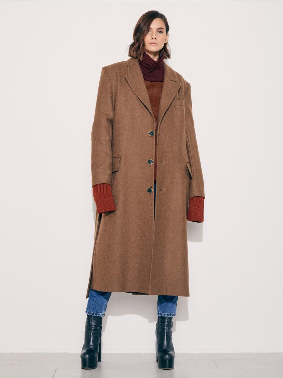 Пальто brown