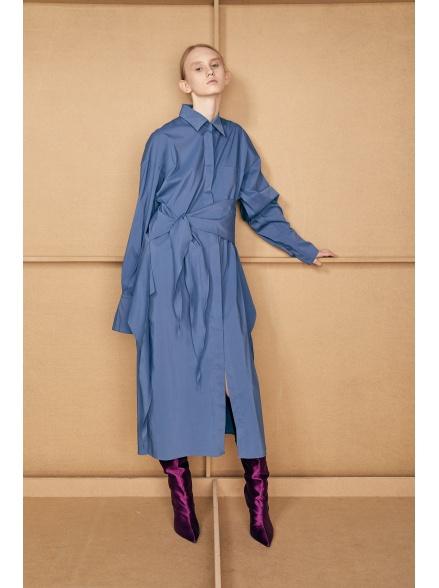 Платье-рубашка blue